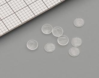 Комплект линз для фар (с рифлением) ФГ9-3711201 (3,5 мм), 8 шт