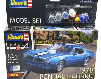 Сборная модель Pontiac Firebird 1970 (подарочный набор)