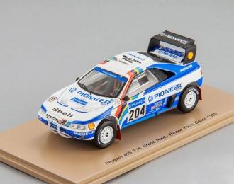 Peugeot 405 T16 #204 Grand Raid Winner Paris Dakar 1989 A. Vatanen - B. Berglund