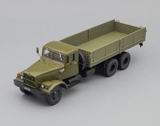 КрАЗ-257Б1 бортовой Грузовики СССР 30, темно-зеленый