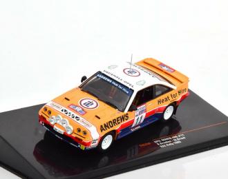 OPEL Manta 400 #11 Brookes - Broad RAC Rally 1985