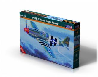 Сборная модель Самолет P-51 B-5 Hurry Home Honey