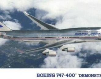 Сборная модель Самолет BOEING 747-400 DEMONSTRATOR