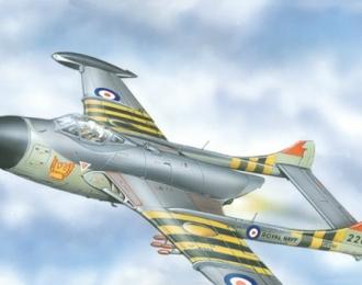 Сборная модель Британский палубный истребитель-перехватчик De Havilland  Sea Venom