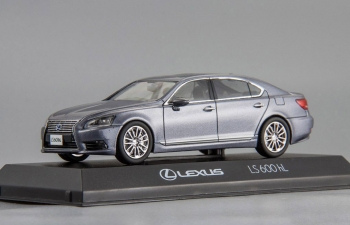LEXUS LS600hL, grey