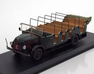 """Steyr 380a Cabrio-Bus """"Polizei"""",Austria,1949"""