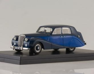 DAIMLER DB18 Hooper Empress (1950), blue / dark blue