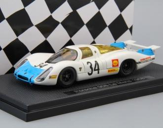 PORSCHE 908 Le Mans #34 (1968), white / blue