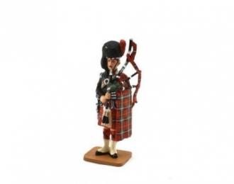 Волынщик Black Watch 3 - й батальон Королевского полка Шотландии 1914