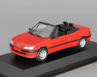 PEUGEOT 306 Cabriolet (1998), red