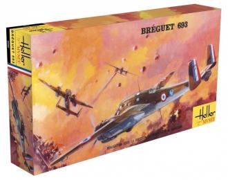 Сборная модель Французский штурмовой самолет Breguet 693