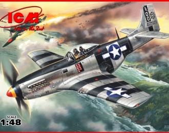 Сборная модель Mustang P-51 K, американский истребитель Второй Мировой войны