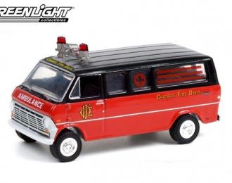 "FORD Club Wagon Ambulance ""Chicago Fire Department""1969"