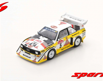 Audi Sport quattro S1 E2 #5 Winner Rally Sanremo 1985 Walter Röhrl - Christian Geistdörfer