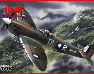 Сборная модель Spitfire Mk.VIII, британский истребитель Второй Мировой войны