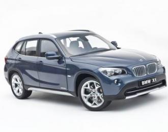 BMW X1 2010, blue