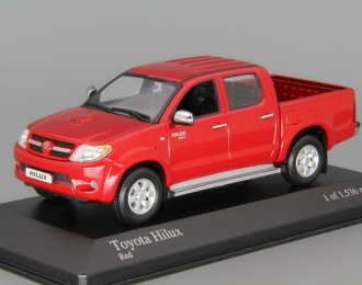 TOYOTA Hilux (2007), red