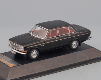 VOLVO 144S (1967), black with red interior