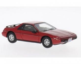 PONTIAC Fiero 2M4 (1984), red