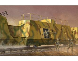 Сборная модель Штабной броневагон