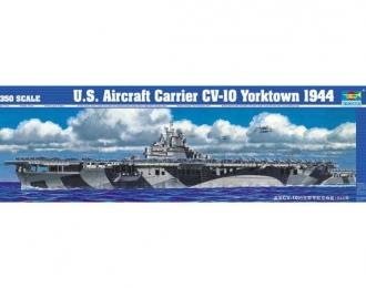 Сборная модель Американский авианосец CV-10 Yorktown (1944г.)