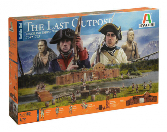 Сборная модель THE LAST OUTPOST 1754-1763 FRENCH AND INDIAN WAR - BATTLE SET