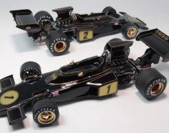 Сборная модель Спортивный автомобиль Team Lotus 72E 1973