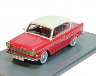 BORGWARD Lloyd Arabella (1960), red with white roof