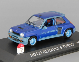 RENAULT R 5 Turbo (1981), blue