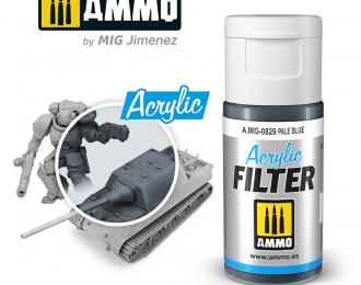 Акриловый фильтр Бледно-голубой 15 мл / ACRYLIC FILTER Pale Blue 15 ml