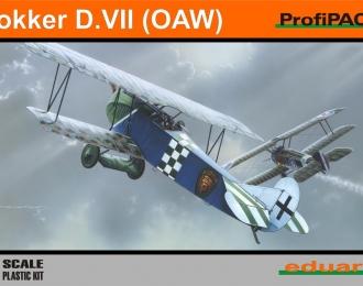 Сборная модель Немецкий истребитель Fokker  D.VII O. A.W.