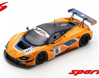 McLaren 720S GT3 #5 McLaren Motorsport 8th Gulf 12H 2018 Barnicoat - Parente - van Gisbergen
