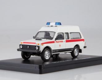 """ВАЗ 2131-05 """"Скорая помощь"""", белый / красный"""