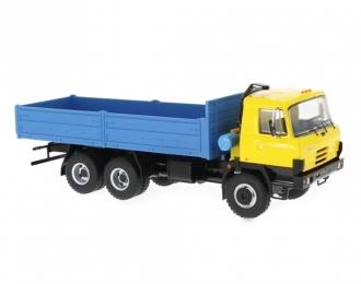 TATRA 815 V26.208 6х6 бортовой грузовик (1994), yellow / blue