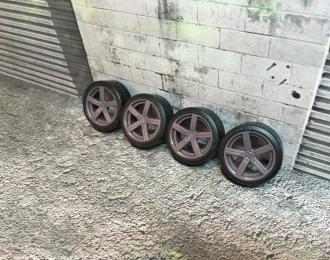 Комплект дисков Pirelli диски (с резиной Proxes R888)