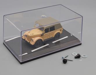 """Пластиковый Бокс-диорама для моделей """"Асфальтированная трасса"""" (155х90х70мм)"""
