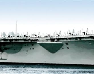 """Сборная модель Авианосец U.S.S. """"Nimitz"""""""