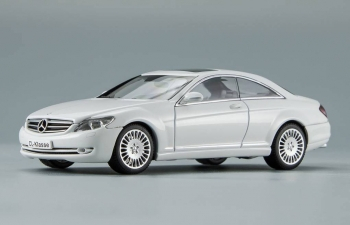 MERCEDES-BENZ CL500 (2006), white
