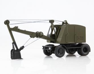 Экскаватор-255, хаки
