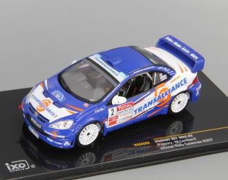 PEUGEOT 307 WRC #2 P.Henry-M.Lombard Winner Rally CEVENNES 2007 (France), blue