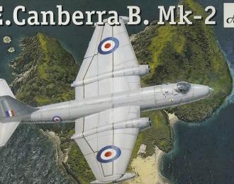 Сборная модель Британский средний бомбардировщик English Electric Canberra B Mk-2