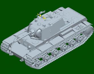 Сборная модель KV-1 1942 Simplified Turret Tank w/Tank Crew