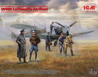 Сборная модель Аэродром Люфтваффе II МВ