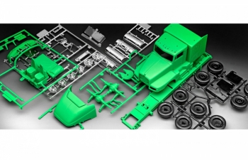 Сборная модель Седельный тягач Kenworth T600