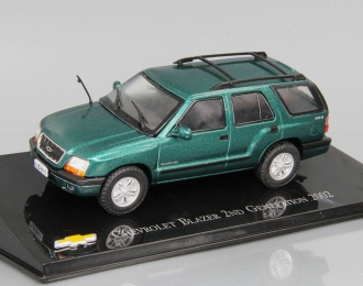 CHEVROLET Blazer 2ND Generation (2002), green
