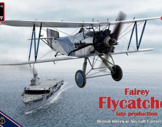 Сборная модель Британский самолёт-истребитель Fairey Flycatcher (поздний вариант)