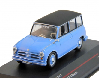 AWZ P70 Kombi (1957), blue / black