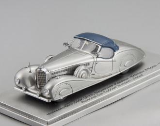 "MERCEDES-BENZ 540K (W29) Erdmann & Rossi ""King Hussein of Jordan"" 1936 closed version (silver)"