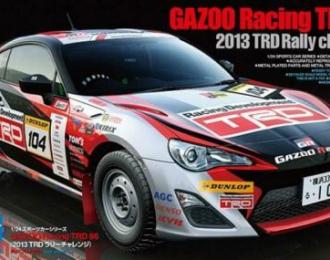 Сборная модель TOYOTA Gazoo Racing TRD 86