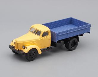 ЗИL-164А, Автолегенды СССР. Грузовики 49, желтый / голубой